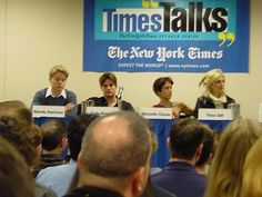 Times Talk conference - randy-harrison gale harold