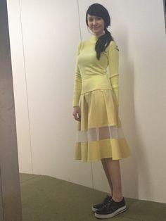 Saya Ichikawa Official Web Site > from the planet nerd [市川紗椰 オフィシャルサイト] Asian Woman, Fashion Models, Nerd, High Neck Dress, Two Piece Skirt Set, Dresses For Work, Kawaii, Actresses, Lady