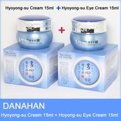 [Korean Cosmetics] DANAHAN Hyoyong-su Cream15ml + Hyoyong-su Eye Cream15ml