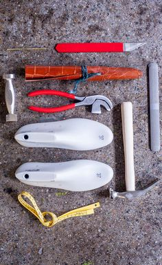 Brandi Devers, a designer/maker and owner of a bespoke shoemaking and leather goods company, came to CCS to show students how to work with leather. These are some of the shoemaking tools and lasts (shoe forms) students work with. Learn more about the Fashion Accessories Design degree from CCS – a top fashion design school located in Detroit's creative community.