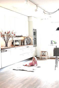 ¡Amo esa cocina! En verdad, amo toda la casa de Niki de my scandinavian home