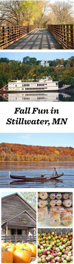 Tips for a great fall getaway in Stillwater, MN: http://www.midwestliving.com/blog/travel/best-bets-for-fall-fun-stillwater