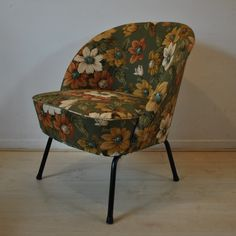 Lady's cocktail club lounge chair from the sixties