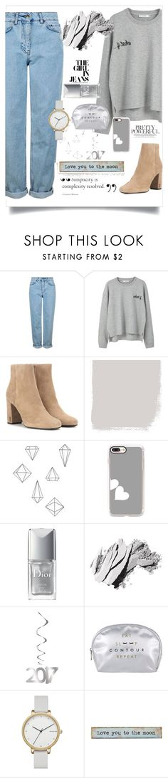 """""""Street Style #2"""" by nendeayesika ❤ liked on Polyvore featuring Topshop, MANGO, Yves Saint Laurent, Umbra, Casetify, Christian Dior, Bobbi Brown Cosmetics, Skagen and Natural Life"""