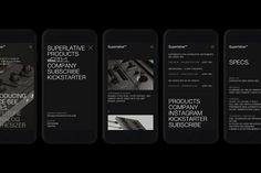 SearchSystem™ Digital, Mobile Ui, Layout, Design, Page Layout, Design Comics
