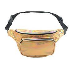 Running Waist Bag H Inkach Stylish Girls Sports Hiking Belt Waist Bag Pouch Fanny Pack with Zipper