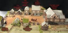 The Medieval Village Series Minecraft Medieval Village, Blacksmithing, Great Britain, Brewery, Mansions, Architecture, House Styles, World, Building