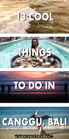 Canggu is an up and coming hipster area in Bali known for its relaxed vibes, surfing waves and yoga spots. Don't miss it on your trip to Bali! #bali #indonesia ***** Canggu Bali | Canggu Bali things to do | Things to do in Canggu Bali | Things to do in Bali | Things to do in Bali Indonesia | Bali travel | Bali destinations | Places to go in Bali | Where to go in Bali | What to do in Bali | Southeast Asia destinations | Southeast Asia travel