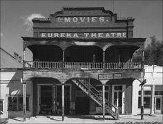 Eureka Theatre, Eureka, Nevada, 1976