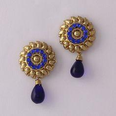 Blue Amazing  Diamond Earring