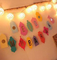 30 Best Of Eid Decoration Ideas . Set Eid Mubarak Balloons Ramadan Decoration Gold Silver islamic Eid Balloons for Muslim Party Supplies Eid Mubarak Wünsche, Eid Mubarak Banner, Eid Mubarak Wishes, Eid Crafts, Ramadan Crafts, Crafts For Kids, Fest Des Fastenbrechens, Eid Moubarak, Diy Eid Decorations