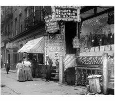 COMMERCE: Delancey Street, New York's Lower East Sid, 1907