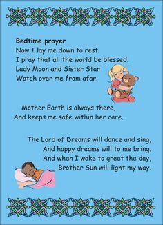Awwww, Pagan Bedtime Prayer.