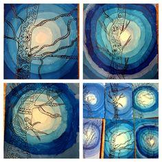 """Poslední """"zimní"""" Advent, Kindergarten, Carnival, Projects To Try, Night, School, Artwork, Winter, Work Of Art"""