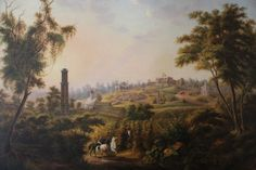 Belmont Mansion landscape (circa 1860), the setting of the Belmont Mansion novels (A Lasting Impression and A Beauty So Rare). I LOVE that history captured this gorgeous view of what the Belmont Estate looked like back then. Now, of course, the mansion (which still stands and is gorgeous!) is surrounded by Belmont University.