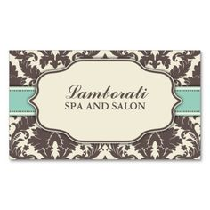 Floral Pattern Damask Elegant Classy Modern Retro Business Cards. I love this design! It is available for customization or ready to buy as is. All you need is to add your business info to this template then place the order. It will ship within 24 hours. Just click the image to make your own!