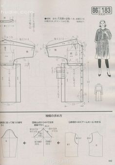 free download/ LADY BOUTIQUE 2014-3 Journal of sewing women's clothes. Language: Japanese /#pattern