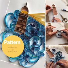 Quilling Butterfly, Arte Quilling, Paper Quilling Patterns, Quilled Paper Art, Quilling Paper Craft, Paper Butterflies, Paper Crafts, Quilling Instructions, Quilling Tutorial