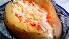 Batata assada no microondas (Baked potato)