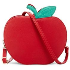 Big Apple Red Cross Body Bag Tradesy ($10) ❤ liked on Polyvore featuring bags, handbags, red cross body bag, cross-body handbag, red crossbody, red crossbody bag and red crossbody handbags