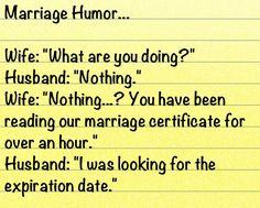 Pin By Kendra Day Crockett On All Things Funny Board 2 Marriage Jokes Marriage Humor Wedding Jokes