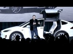 Awesome Tesla 2017: Elon Musk launches Tesla Model X (9.29.15) Check more at http://24cars.top/2017/tesla-2017-elon-musk-launches-tesla-model-x-9-29-15/