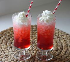 Strawberry Italian Cream Soda @torani