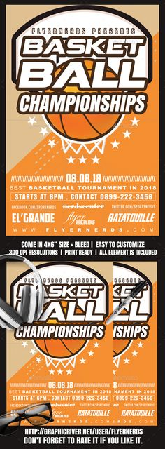 Extreme Mountain Bike Championships Sports Flyer Flyer template - basketball flyer example