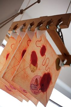 Printmaking art courses.