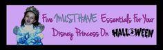 Five Must Have Essentials For Your Disney Princess On Halloween | eBay  #eBayGuides #Sponsored #Halloween #DisneyPrincess