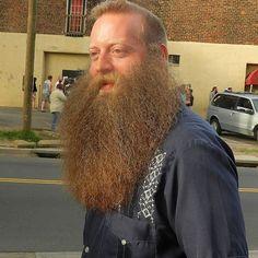 Jeff Langum being a legend - full thick bushy beard and mustache beards bearded man men epic level bearding long natural length Hairy Men, Bearded Men, Moustaches, Epic Beard, Long Beards, Beard No Mustache, Older Men, Beard Styles, Facial Hair