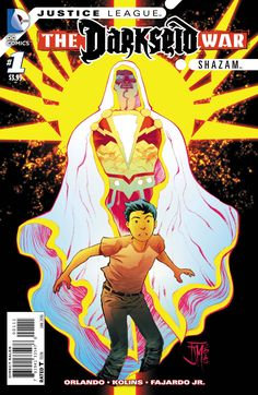 A boy becomes an army of Gods! No longer does Billy Batson have access to the powers of the Old Gods. Now, he commands the combined might of Highfather, Mantis and other New Gods. But these Gods are n
