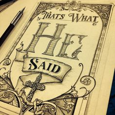 Typography Mania Entries — Vintage Illustration and hand lettering by Brandon...