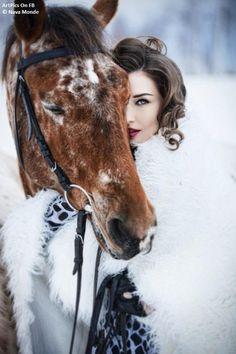 model horse photoshoot