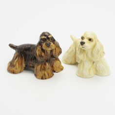American Cocker Spaniel Dog Ceramic Figurine Salt Pepper Shaker 00038 Ceramic Handmade Dog Lover Gift Collectible Home Decor Art and Crafts by Cocker Spaniel - madamepOmm -. $59.00. American Cocker Spaniel Dog Lover Ceramic Original Handmade Hand Paint Salt and Pepper Shaker Figurine Ceramic Home Decor Collectibles  Made of ceramic porcelain high fired interior apply clear under-glaze, food safe painted with attention hand painted acrylic paint then apply clear gloss protected....