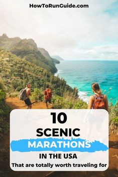 Ready to add one of the most scenic marathons in the USA to your bucket list? Choose from these 10 stunningly scenic marathons for your next race! Marathon Tips, First Marathon, Half Marathon Training, Marathon Running, Learn To Run, How To Start Running, Running Humor, Running Tips, Benefits Of Running