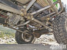 1969 Ford Bronco Rear 4 Link Suspension