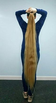 Beautiful Long Hair. Very nice.
