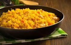 Arroz al microondas. ¡Una receta rápida y deliciosa! Microwave Recipes, Kitchen Recipes, Cooking Recipes, Healthy Recipes, Microwave Food, Risotto Receita, Broccoli Fritters, Micro Onde, Yams