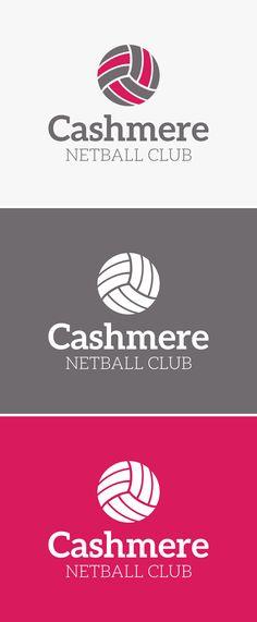 Cashmere Netball Club - logo design & branding.  www.themark.co.nz