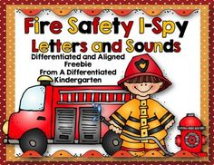 Just in time for Fire Safety Month!This I-Spy activity will become a favorite of your students working on mastering letter recognition and sounds. Students will be searching for letters in the picture using a magnifying glass.  When they find a letter, they will circle whether the letter is lowercase or capital and then write the letter in the space provided.