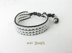 1 Paire 8cm Crochet Boucles D/'oreilles en Style Yin Yang Signe Cadeau Bijoux