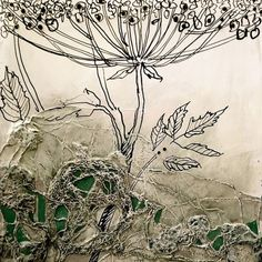 Новости Altered Canvas, Altered Art, Collages, Mix Media, Art Folder, Collage Art Mixed Media, Plant Painting, Textile Fiber Art, Floral Artwork