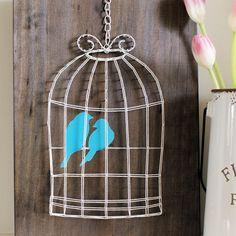 Bird Cage String Art $40 AUD #stringart #birdsofinstagram #decor #lovethisone