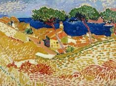 Fauvism is colorful style of painting developed by Henri Matisse and Andre Derain who used vibrant colors, simplified drawing and expressive brushwork. Andre Derain, Henri Matisse, Raoul Dufy, Amedeo Modigliani, Georges Braque, Fauvism Art, Maurice De Vlaminck, Post Impressionism, Paul Cezanne