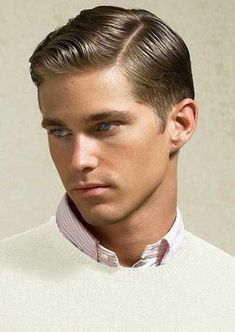 Vintage Haircuts For Men Vintage Hairstyles For Men, Vintage Haircuts, Classic Mens Hairstyles, Top Hairstyles For Men, Classic Haircut, 1940s Hairstyles, Boy Hairstyles, Haircuts For Men, Hairstyles Haircuts