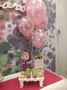 Teddy Bear Birthday, 2nd Birthday, Marsha And The Bear, Donut Shop, Baby Shower, Holiday Themes, Birthday Decorations, Diy And Crafts, Birthdays