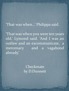 Dorothy Dunnett quot