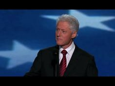 President Bill Clinton's Remarks at the 2012 Democratic National Convention - Full Speech