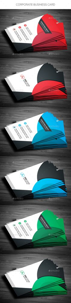 Vertical Business Card - #Corporate #Business #Cards Download here: https://graphicriver.net/item/vertical-business-card/19477147?ref=alena994